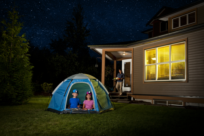 All The Essentials for your Backyard Campout