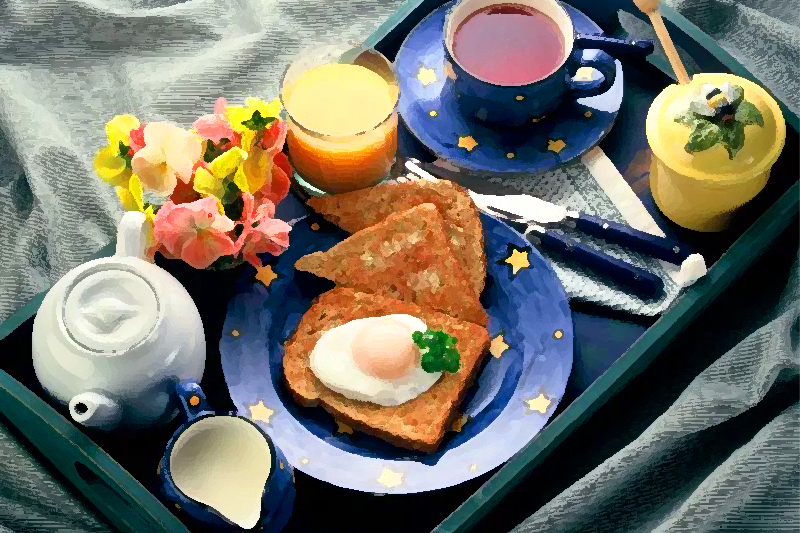 Typical Breakfast Meals from Around the World