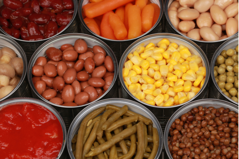 Canned Foods: Safe and Convenient